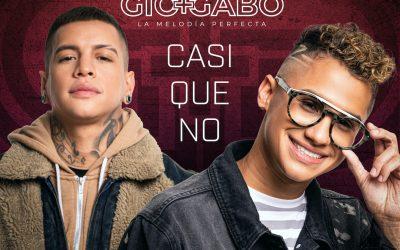 """El reconocido dúo venezolano Gio y Gabo """"La Melodía Perfecta"""" estrena a nivel global su nuevo sencillo Casi que No."""