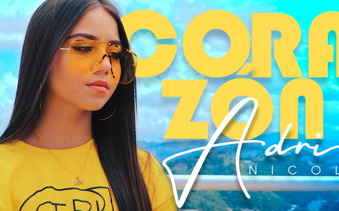 """Adri Nicol celebra el Día Internacional de la Mujer con el nuevo video cover """"Corazón"""", de Maluma"""